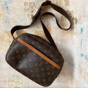 Authentic Louis Vuitton Reporter Crossbody